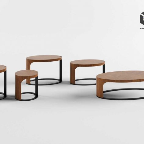 GIORGETTI LING ACCENT TABLE(3ddanlod.ir)