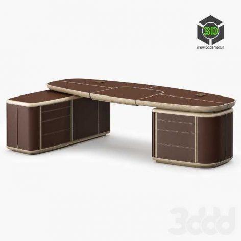 Giorgetti Tycoon Desk2(3ddanlod.ir)