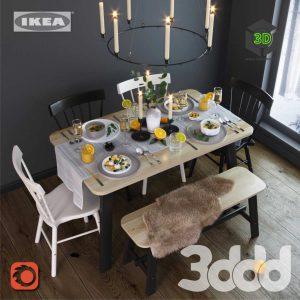 IKEA Dining Group(3ddanlod.ir) 223