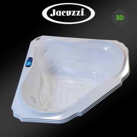 Jacuzzi Bellavista Corner Bath(3ddanlod.ir) 089