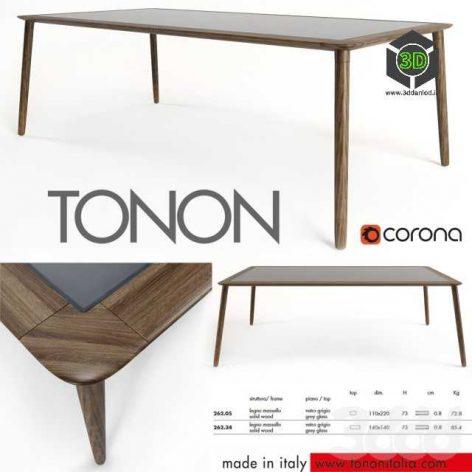 Jonathan tables Tonon(3ddanlod.ir)