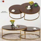 Kanta Nested Coffee Tables Boydblue(3ddanlod.ir) 140