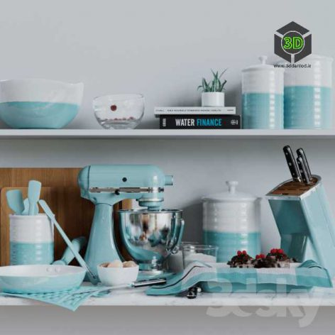 Kitchen Set Crate & Barrel(3ddanlod.ir) 126