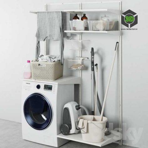 Laundry Set 2(3ddanlod.ir) 048