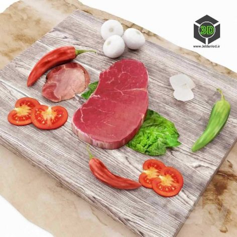 Meat Steak(3ddanlod.ir) 151