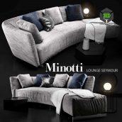 Minotti LOUNGE SEYMOUR(3ddanlod.ir) 012