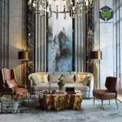 Modern Livingroom Fusion Style 292(3ddanlod.ir)