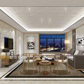 Modern Livingroom Fusion Style 306(3ddanlod.ir)