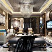 Modern Livingroom Fusion Style 307(3ddanlod.ir)