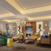 Modern Livingroom Fusion Style 314(3ddanlod.ir)