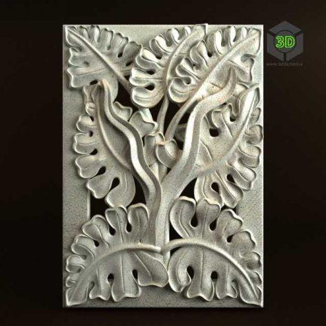 Nature Carving Ornament 022 (3ddanlod.ir) 030