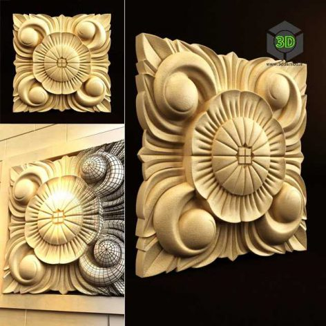 Palimanan Carving Ornament 07 (3ddanlod.ir) 095