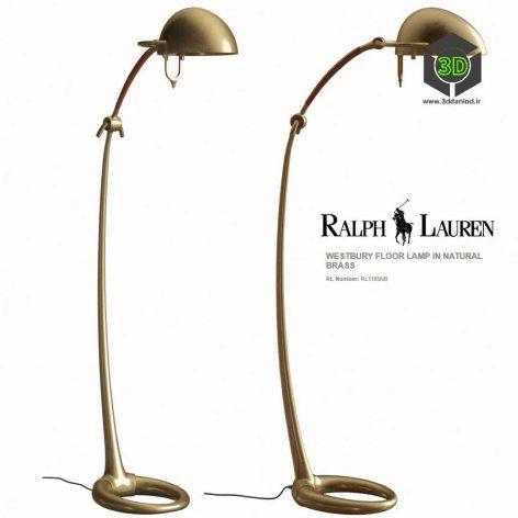 Ralph Lauren WESTBURY FLOOR LAMP IN NATURAL BRASS RL1185NB(3ddanlod.ir) 212