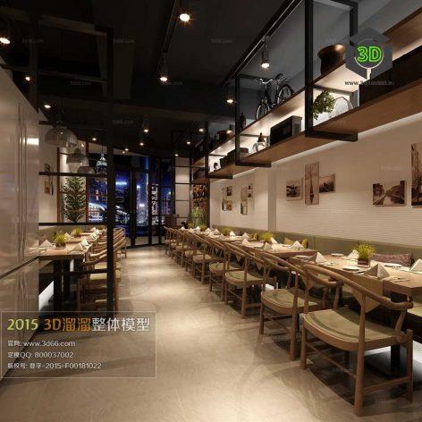 Resteraunt House Cafe Interior 046(3ddanlod.ir)