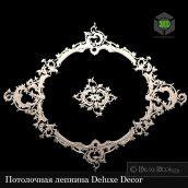 Rococo stucco ceiling Deluxe Decor (3ddanlod.ir) 107