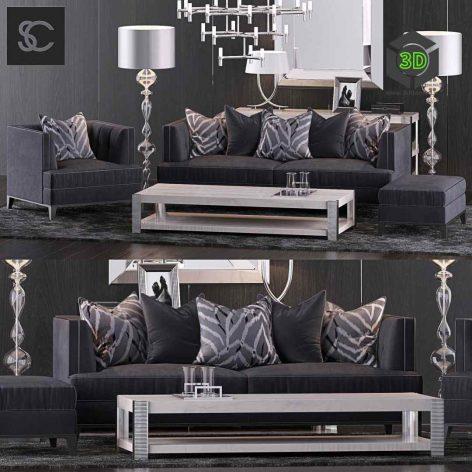 The Sofa & Chair Company Set 10(3ddanlod.ir) 718