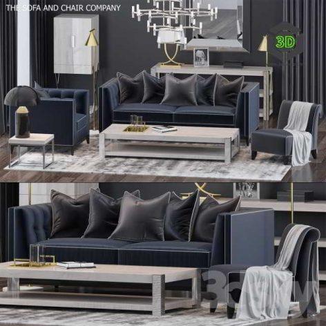 The Sofa & Chair Company Set 6(3ddanlod.ir) 045