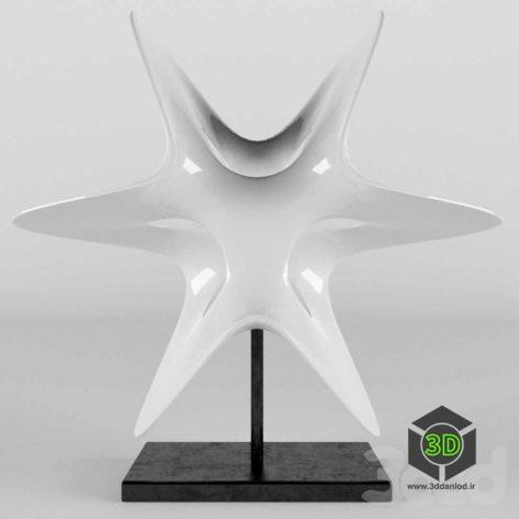 Trefoil Star(3ddanlod.ir)