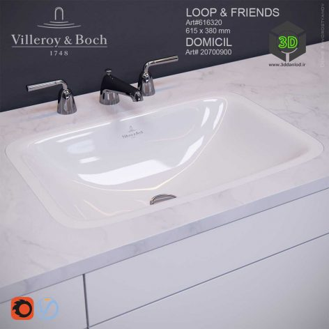 Villeroy & Boch Loop & Friends Domicil(3ddanlod.ir) 088