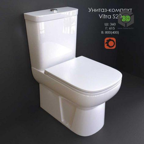 WC-CD Vitra S20(3ddanlod.ir) 090