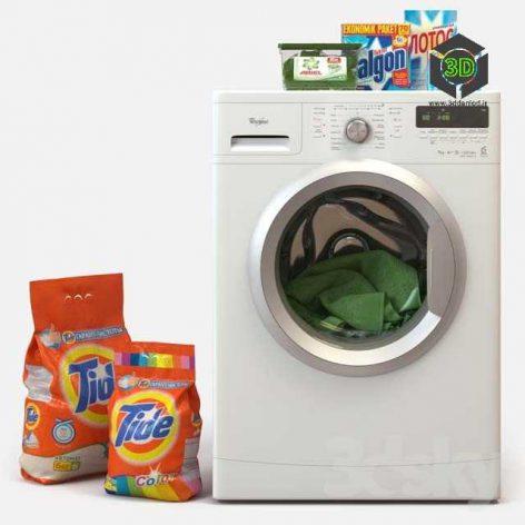 Washing Machine Whirlpool(3ddanlod.ir) 028