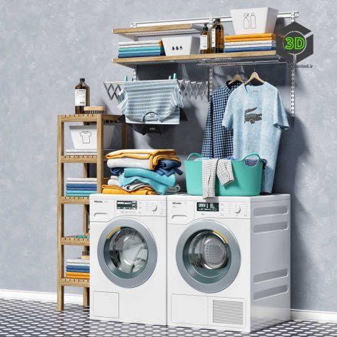 Washing Machines MIELE(3ddanlod.ir) 091