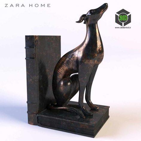 Zara Home Bookends(3ddanlod.ir) 189