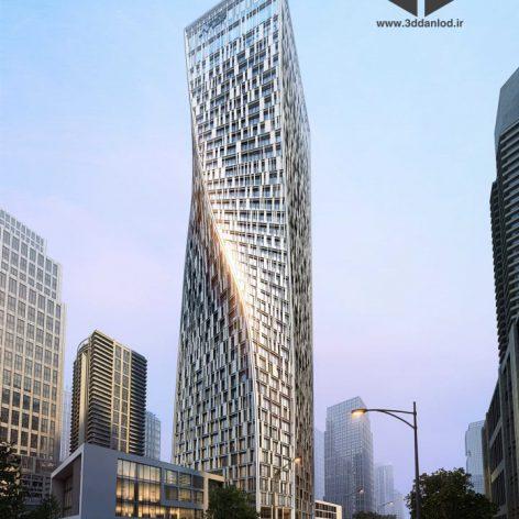 commercial building 020(3ddanlod.ir) 151