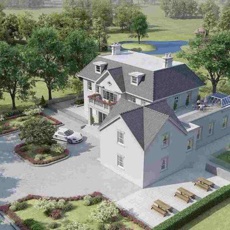 villa exterior model 02 (3ddanlod.ir)