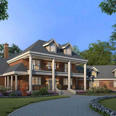 villa exterior model 04 (3ddanlod.ir)