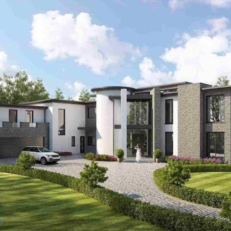 villa exterior model 15 (3ddanlod.ir)