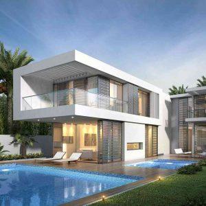 villa exterior model 17 (3ddanlod.ir)