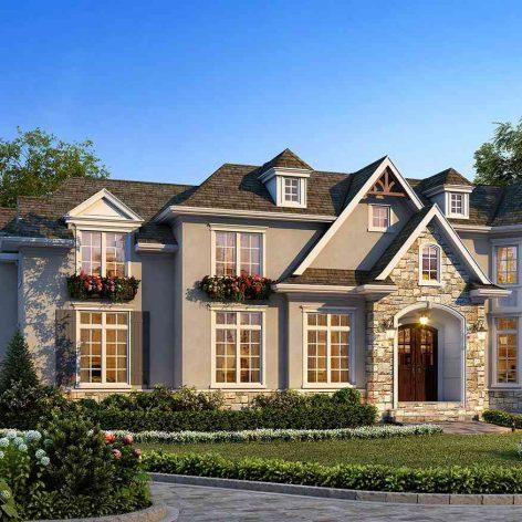 villa exterior model 25 (3ddanlod.ir)