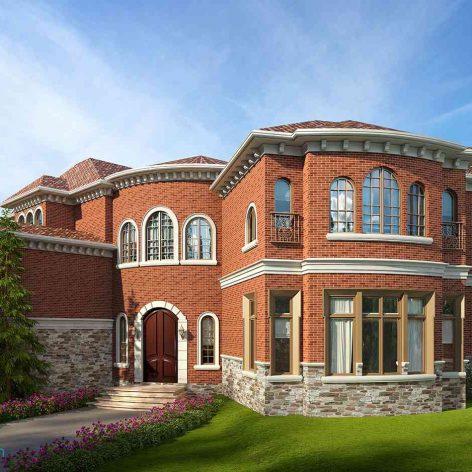 villa exterior model 28 (3ddanlod.ir)