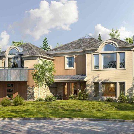 villa exterior model 31 (3ddanlod.ir)