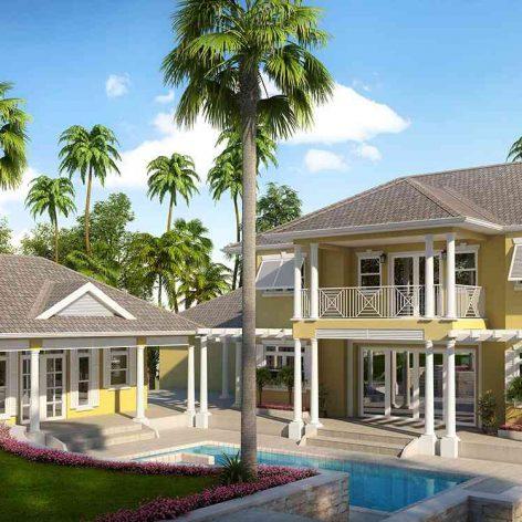 villa exterior model 33 (3ddanlod.ir)