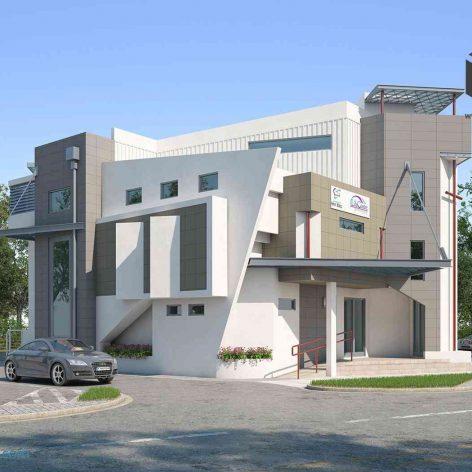 villa exterior model 38 (3ddanlod.ir)
