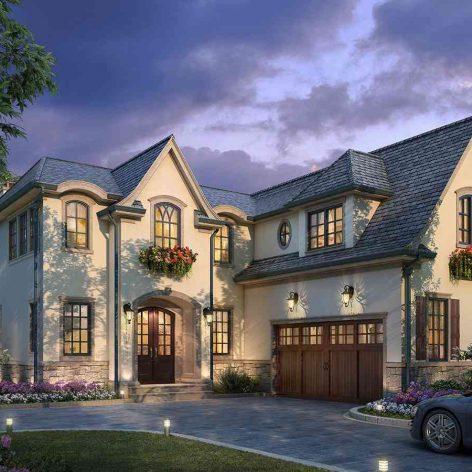 villa exterior model 42 (3ddanlod.ir)