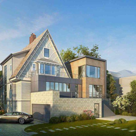 villa exterior model 75 (3ddanlod.ir)