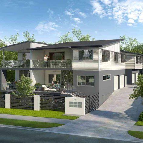 villa exterior model 82 (3ddanlod.ir)