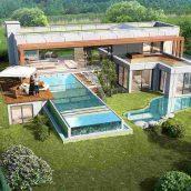 villa exterior model 87 (3ddanlod.ir)