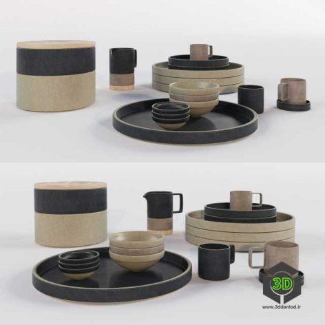 japanese porcelain kitchen set(3ddanlod.ir)