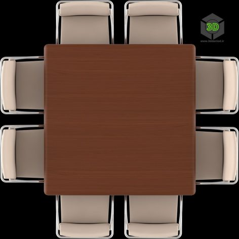 3dm_02_mesa-quadrada (3ddanlod.ir)