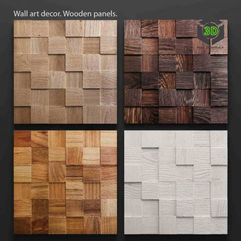 Art Wood Panels(3ddanlod.ir) 030