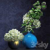 Flowers in Vase(3ddanlod.ir) 216