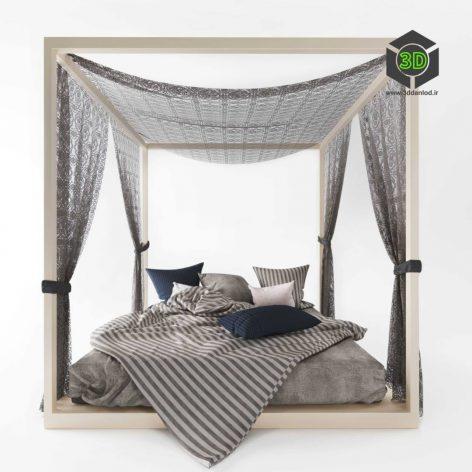 Four Poster Bed (3ddanlod.ir) 010