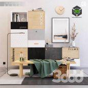 IKEA BESTA Set 4(3ddanlod.ir) 407