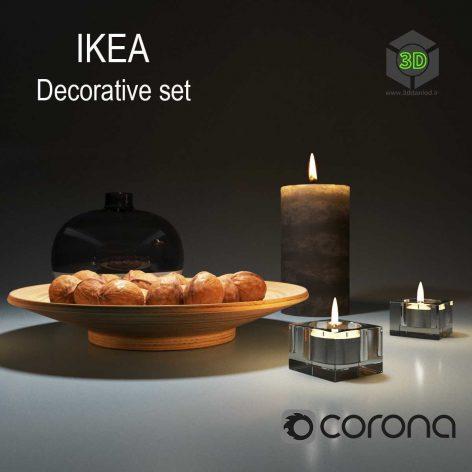 Ikea Decorative Set 001(3ddanlod.ir) 404