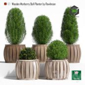 Marberry Ball Planter(3ddanlod.ir) 434