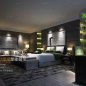 Modern Bedroom Style Interior044(3ddanlod.ir)